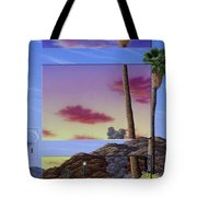 Sunset Door Tote Bag