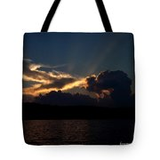 Sunset Dragon Tote Bag