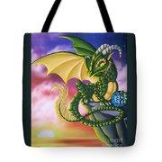 Sunset Dragon Tote Bag