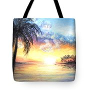 Sunset Exotics Tote Bag