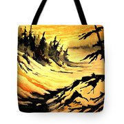 Sunset Extreme Tote Bag