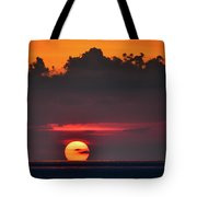 Sunset Face Tote Bag