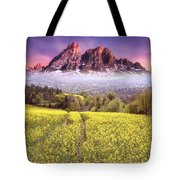 Sunset Fields Tote Bag