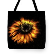 Sunset Flower Tote Bag
