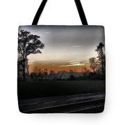 Sunset Fog Tote Bag