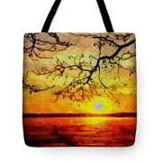 Sunset For Abigail Browne H B Tote Bag