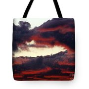 Sunset Formation Tote Bag