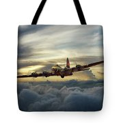 Sunset Fortress Tote Bag