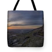 Sunset From Commedagh Tote Bag