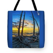 Sunset From Lovers Key, Florida Tote Bag