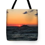Sunset From The Ferry Tote Bag