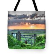 Sunset Gate Tote Bag