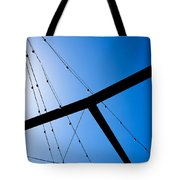 Sunset Geometry Tote Bag