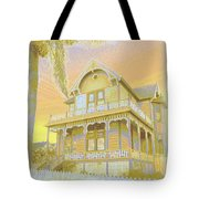 Sunset Gingerbread Tote Bag