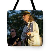 Sunset Glow With Cool Music Tote Bag