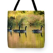 Sunset Goose Tote Bag