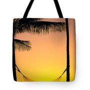 Sunset Hammock Tote Bag