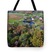 Sunset Hill Farms Indiana  Tote Bag