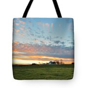 Sunset Home Tote Bag