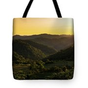 Sunset In Appalachia Tote Bag