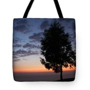 Sunset In Avgonyma Tote Bag