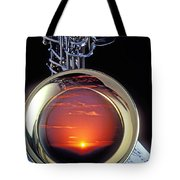 Sunset In Bell Of Sax Tote Bag