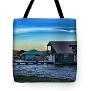 Sunset In Coffee Tote Bag