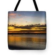 Sunset In Dar Tote Bag