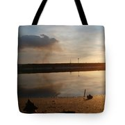 Sunset In Delta Tote Bag