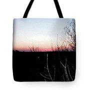 Sunset In Door County Tote Bag