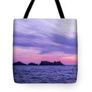 Sunset In Dubrovnik Tote Bag