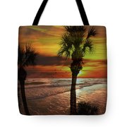 Sunset In Florida Tote Bag