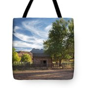 Sunset In Grafton Ghost Town I Tote Bag