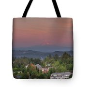 Sunset In Happy Valley Tote Bag