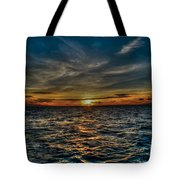 Sunset In Hawaii Tote Bag