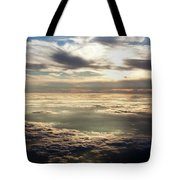 Sunset In Heaven Tote Bag
