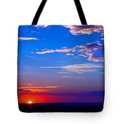 Sunset In Hudson Nh Tote Bag