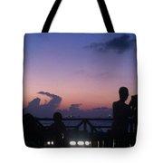 Sunset In Maldives Tote Bag