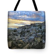 Sunset In Matera.italy Tote Bag