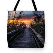 Sunset In Meaher Park #102 Tote Bag