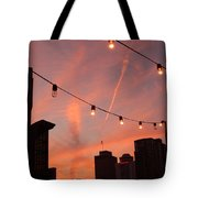 Sunset In Nashville Tote Bag