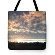 Sunset In November  Tote Bag
