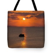 Sunset In Okinawa Tote Bag