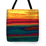 Sunset In Ottawa Valley Tote Bag