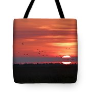 Sunset In Sabine Pass Texas Tote Bag