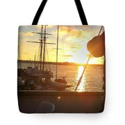 Sunset In San Diego Tote Bag