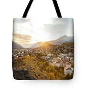Sunset In Sion Tote Bag