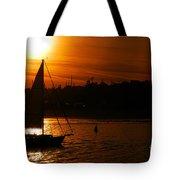 Sunset In Southern California Tote Bag