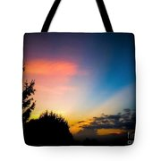 Sunset In Summer  Tote Bag