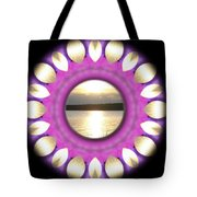 Sunset In Summertime Tote Bag